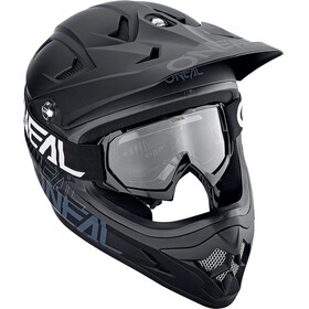 ONeal B-10 Goggle Youth SOLID black/white